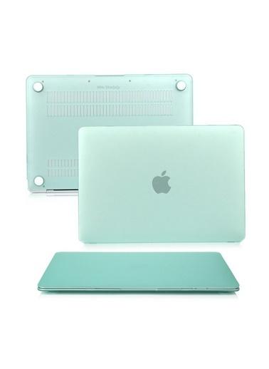 "Mcstorey MacBook Air A1369/A1466 13"" 13.3"" Kılıf Kapak Koruyucu Ruberized  Hard Incase Mat Haki"